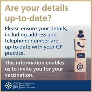 Are your details up to date? GP poster